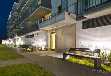 Fotografia architektury hotelu w krakowie.
