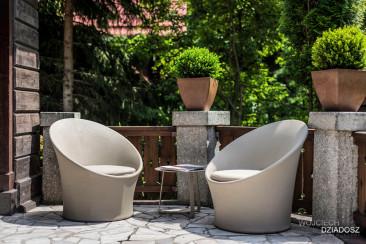 Dom Karpacz Fotografia wnetrz - krzesła