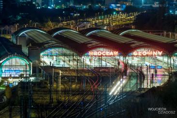Wrocław nocą - niezapomniane chwile.