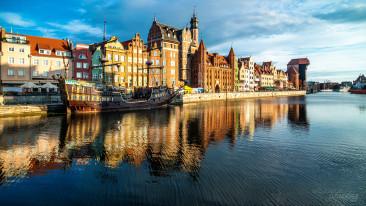 Gdańsk nabrzeże Motławy