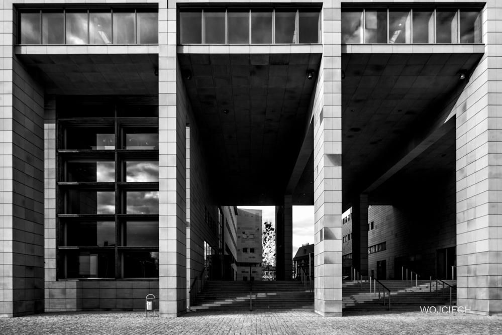 Fotografia_ Architektury Wrocław - Biblioteka 3