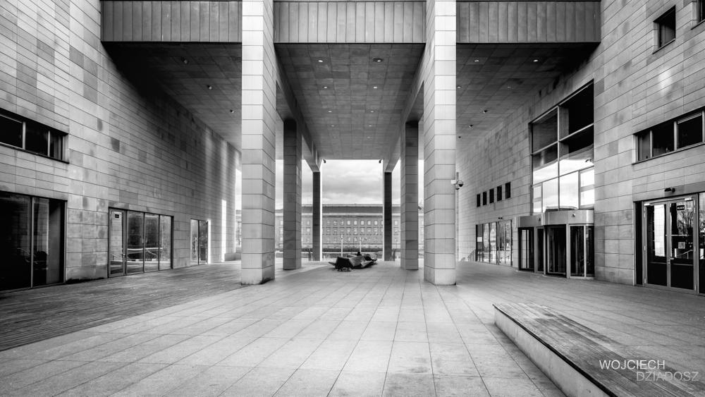 Fotografia_ Architektury Wrocław - Biblioteka 7