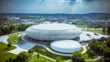 Fotografia lotnicza - Stadion narodowy.