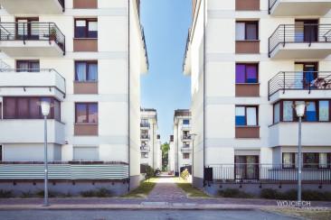 Przestrzeń między budynkami