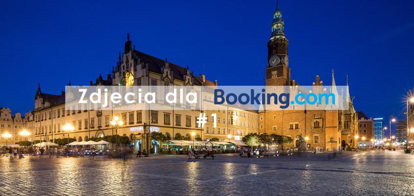 Zdjęcia dla booking.com #1 – Wrocław nocą