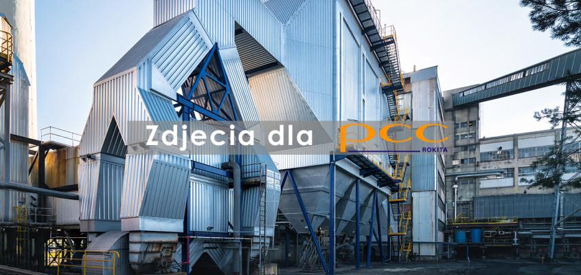 Fotografia przemysłowa dla PCC Rokita