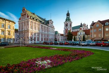 Stare miasto w Poznaniu.