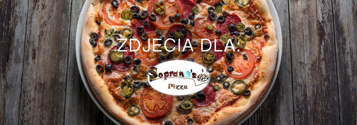 Fotografia kulinarna dla Pizza Sopranos Wrocław