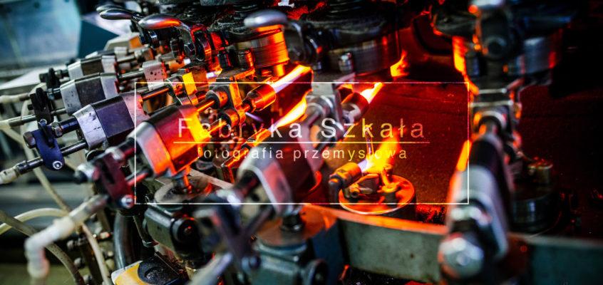 Fotografia Przemysłowa | Fabryka opakowań szklanych