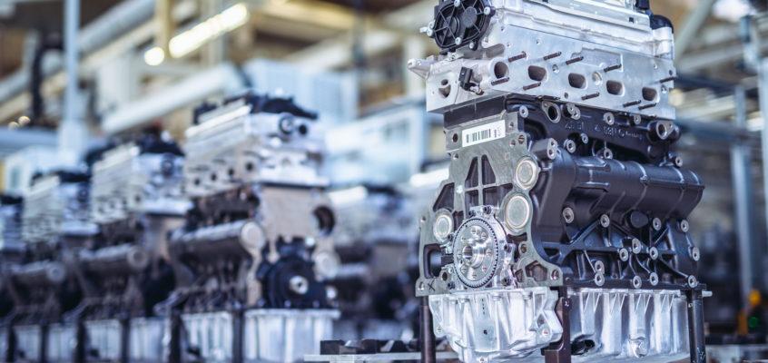 Zdjęcia przemysłowe w fabryce VW