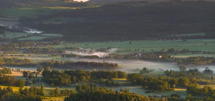 Najwspanialszy widok na Dolnym Śląsku.